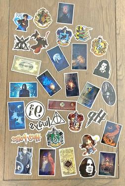 Mixed Lot 32pc Harry Potter HP Inspired Vinyl Stickers Lapto