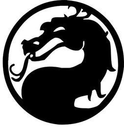Mortal Kombat vinyl decal - sticker car laptop phone auto tr