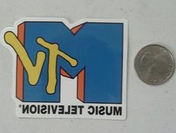 MTV sticker  logo music television vintage 90s cell laptop