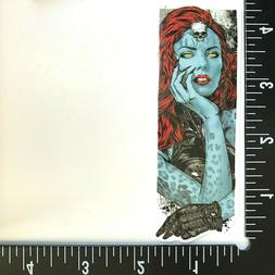 MYSTIQUE Sticker / Decal • x-men xbox one ps4 nalgene marv