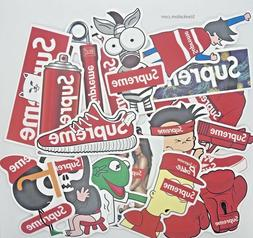 NEW! Custom Cartoon Supreme Stickers Laptop Room Wall Phone