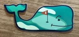 NEW Vineyard VINES Golf Whale STICKER Laptop YETI Car DECAL