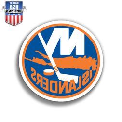 New York Islanders Crest Sticker Decal Phone Laptop Car Wind