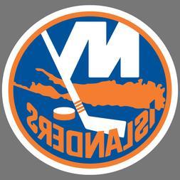 New York Islanders NHL Hockey Vinyl Sticker Car Truck Window
