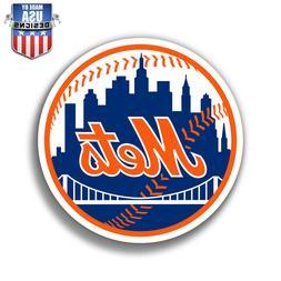 New York Mets Logo Sticker Decal Phone Laptop Car Window Art