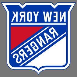 New York Rangers NHL Hockey Vinyl Sticker Car Truck Window D