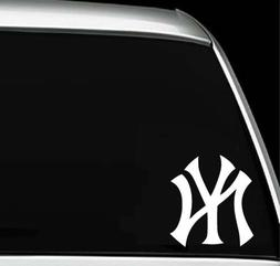 New York Yankees Logo Car Window Truck Laptop Die Cut Vinyl