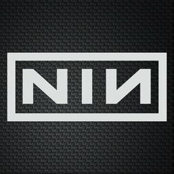 NINE INCH NAILS NIN US Sticker laptop phone outdoor car wind