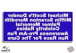 """The Office Michael Scott Dunder Mifflin Fun Run - 3"""" Vinyl S"""