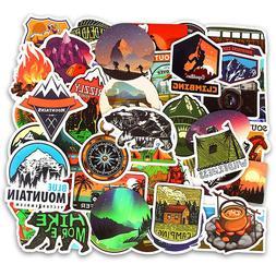 Outdoor Adventure Travel Stickers Skateboard Vinyl Decals La