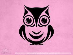 Owl Decal | Bird decal | owl mural decor | Vinyl Sticker Wal