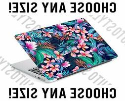 Palm Leaf Tropical Flowers Laptop Skin Decal Sticker Tablet