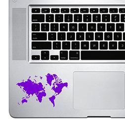 StickAny Palm Series Detailed Earth Sticker for Macbook Pro,
