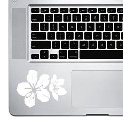 StickAny Palm Series Hibiscus Blossom Sticker for Macbook Pr