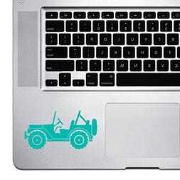 StickAny Palm Series Jeep Sticker for Macbook Pro, Chromeboo