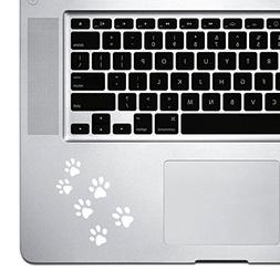 StickAny Palm Series PawPrints Sticker for Macbook Pro, Chro