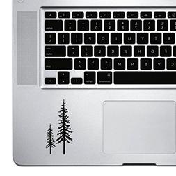 StickAny Palm Series Redwood Trees Sticker for Macbook Pro,