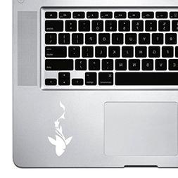StickAny Palm Series Shark Smoke Sticker for Macbook Pro, Ch