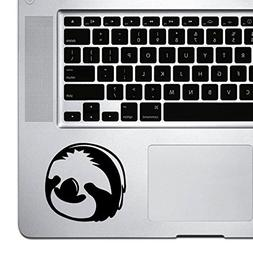 StickAny Palm Series Sloth Face Sticker for Macbook Pro, Chr