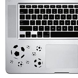 StickAny Palm Series Soccer Ball Pattern Sticker for Macbook