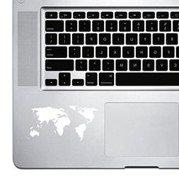 StickAny Palm Series World Map Simple Sticker for Macbook Pr