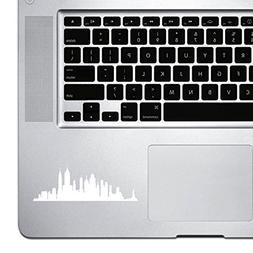 StickAny Palm Series New York Skyline 4 Sticker for Macbook