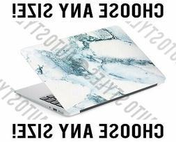 Pastel Baby Blue Marble Laptop Skin Decal Sticker Tablet Ski