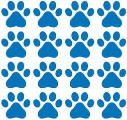 Small Pawprint - Dog Paw Print - Matte Vinyl Decal Sticker Y