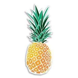 Pineapple Car Laptop Phone Vinyl Sticker  - SELECT SIZE