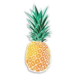 AK Wall Art Pineapple Vinyl Sticker - Car Phone Helmet - Sel