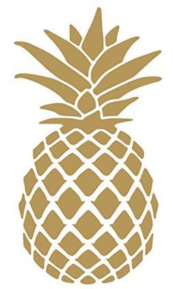 Pineapple Vinyl Sticker Decals for Car Bumper Window MacBook