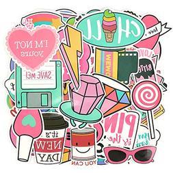 pink lollipop laptop sticker cartoon