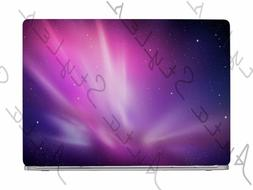 Pink Purple Aura Galaxy Sky Stars Space Laptop Skin Vinyl De