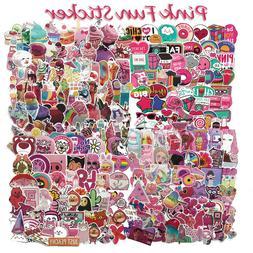 Pink Style Vinyl Sticker Graffiti Laptop Luggage Car Bomb Sk
