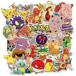 DOFE Pokemon Stickers 80 pcs, Laptop Stickers,Motorcycle Bic