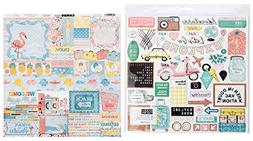 Preppy Stickers for Planner, Scrapbook, Laptop | Vacation an