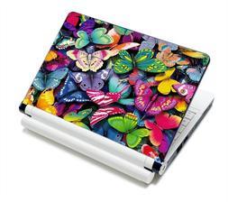Pretty Butterflies Fashion Netbook Laptop Skin Sticker Reusa