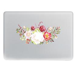 H4S Removable Decorative PVC MacBook Decals Skin Stickers Ma