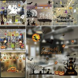 Removable Sticker Shop Showcase Window Wall Laptop Halloween