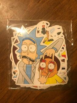 rick and morty 35 pcs sticker lot
