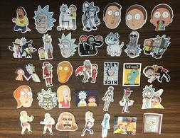 Rick and Morty Cartoon Laptop/Skateboard Stickers CHOOSE YOU