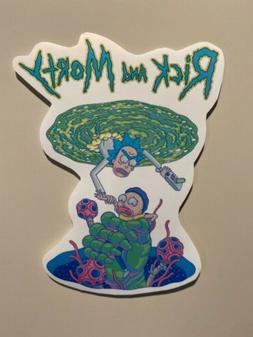 Rick And Morty Sticker - Rick And Morty Decal - Rick And Mor