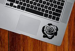 rose blossom vinyl decal