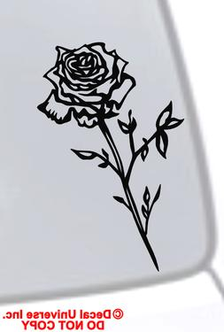 ROSE Vinyl Decal Sticker Car Window Bumper Wall Laptop Flowe
