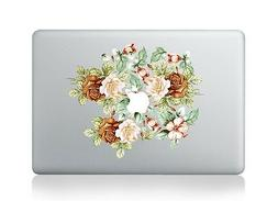 Roses Flowers Laptop Apple Sticker Viny Decal Macbook Air/Pr