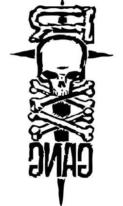 Roxx Gang VINYL DECAL Glam Metal Band car window laptop stic