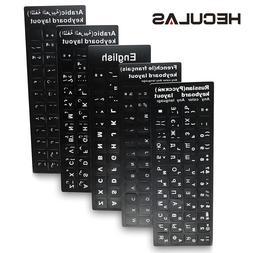 Russian French English Arabic Spanish Portuguese Keyboard <f