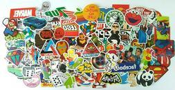 School Skateboard Laptop Car Bumper Assorted Stickers Water-