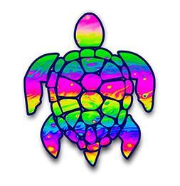 Vinyl Junkie Graphics 3 inch Sea Turtle Sticker for Laptops