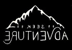 Seek Adventure Wanderlust Decal Vinyl Sticker|Cars Trucks Va